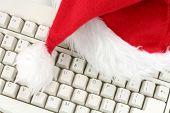 Santa Furry Red  Hat poster