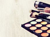 Постер, плакат: Makeup Palette toning