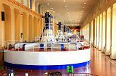 Power house, Turbines generators