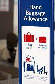 Baggage Allowance.
