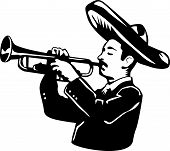 Mariachi and trumpet