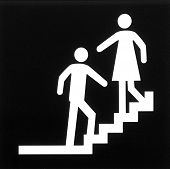 Sign: Stairway