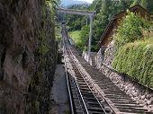 Going Up The Harder Kulm Railway