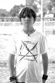 Teenage Boy With Attitude