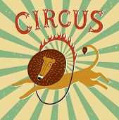Постер, плакат: Circus Performance Vintage Poster