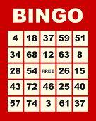 Cartão de bingo
