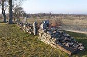 ������, ������: Ruins walls at Gudhem Monastery Abbey Sweden