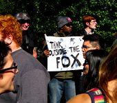 Media Protest Sign