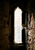 Stone Window, From A Traditional English Castle