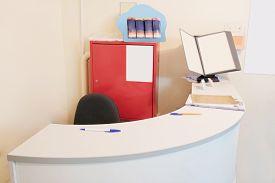 image of beauty salon interior  - Interior of  simple beauty salon - JPG