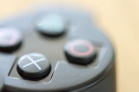 pic of controller  - A Video Game Controller very close up - JPG