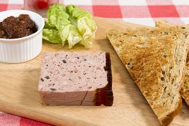pic of canard  - Pork pate  - JPG