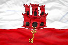 pic of gibraltar  - Gibraltar flag - JPG