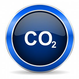 picture of carbon-dioxide  - carbon dioxide icon co2 sign - JPG
