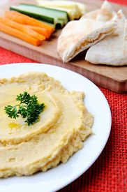 image of humus  - Carrot - JPG