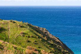 stock photo of gozo  - Seacoast on small island Gozo Malta - JPG