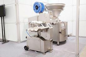 pic of bakeshop  - Industrial dough mixer in bakery - JPG