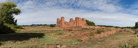 picture of pueblo  - Historic Ruins of Pueblo Missions near Mountainair - JPG