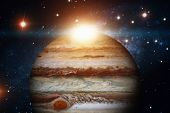 Solar System - Jupiter. It Is The Largest Planet In The Solar System. poster
