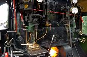Steam Engine Footplate