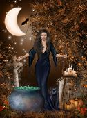 foto of wicca  - In everything magical there is something marvelous - JPG
