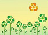 Recycle landscape