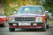 Mercedes-Benz Classic on exhibition parking