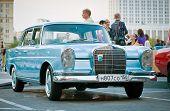 Mercedes-Benz Classic on exhibition park