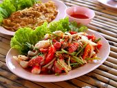stock photo of thai food  - a photo of delicious of thai food - JPG