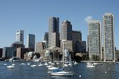 Skylines de Boston, retirados o Charles River 1