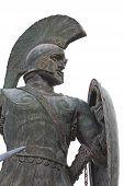 Leonidas of Sparta statue