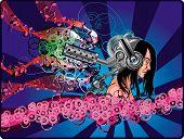 Man In Massive Headphones.eps