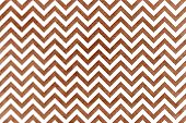 Watercolor Brown Stripes Background, Chevron. poster