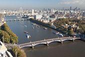 Luftbild auf london