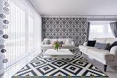 Elegant Living Room poster