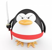 Pinguim Ninja