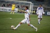 Denys Garmash Of Dynamo Kyiv Controls A Ball