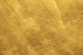 Abstract Gold Foil Metallic Texture. Luxury Background poster