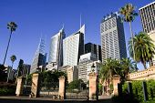 Tall office buildings of Sydney, Australia.