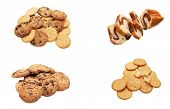 Different Confectioner's Shops, Sweet Products - Cookies