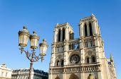 Notre-Dame cathedral. Paris