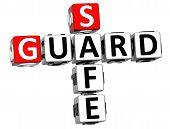 3D Guard Safe Crossword