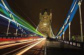 Tower Bridge Light Trails, London