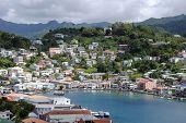 St George's inner harbour Grenada