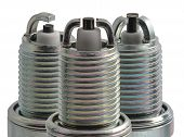 Spark Plugs In Profile Different Types