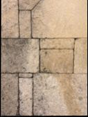 Stony Wall Seamless Background.grungy Stone Background With Rough Worn Border poster