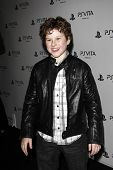 LOS ANGELES, CA - FEB 15: Nolan Gould at the Sony PlayStationAE Unveils PS VITA Portable Entertainme