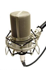 pic of recording studio  - studio microphone  - JPG