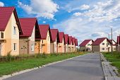 Townhouses With Household Lawns