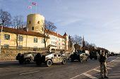 Army Truck At Military Parade